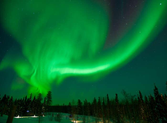 Northern lights stream